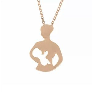 Mother Child Charm Necklace Love New Mom